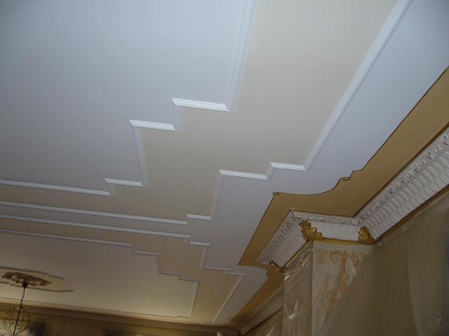 Faux plafond en staff for Maison staff plafond